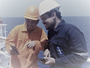 The seafarer in the Internet era
