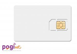 Blank SIm card Poginet